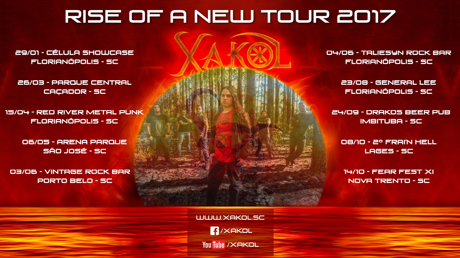 Rise of a New Tour 2017