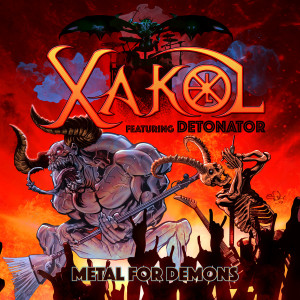 Xakol - Metal for Demons - Capa